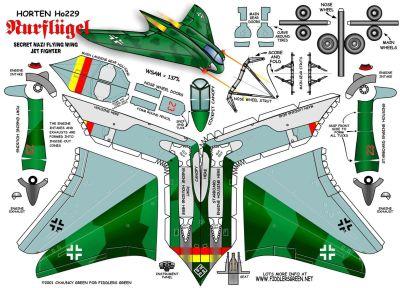 Модели самолетов второй мировой войны из бумаги схемы